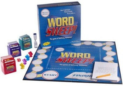 Intellinitiative Webster,S Word Sweep Board Game