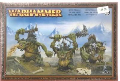 Games Workshop River Trolls Warhammer Orc & Goblins Miniatures Board Game