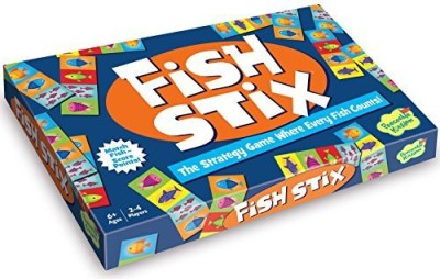 Peaceable Kingdom Awardwinning Fish Stix The Where Every Fish Counts Board Game