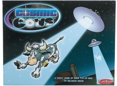 Playroom Entertainment Cosmic Cows (Vertical) Board Game