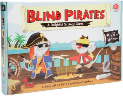 MadRat Games Blind Pirates Board Game