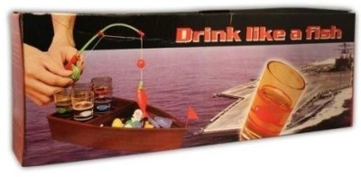 Smartcraft Drink Like A Fish Board Game