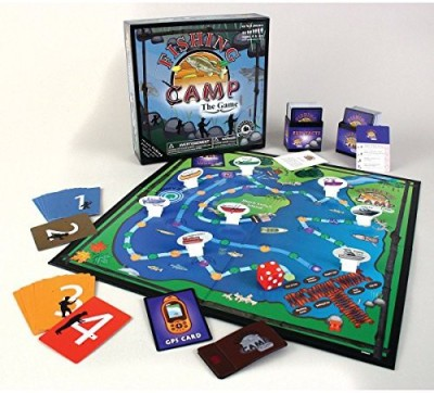 Education Outdoors Fishing Camp Board Game