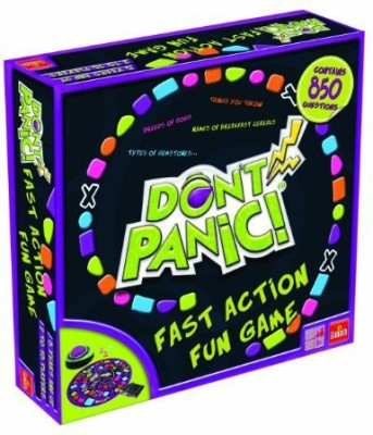 Goliath Games Don,T Panic With 850 Fun Topics To Name Quickly Board Game
