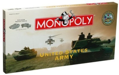 Monopoly Us Army Board Game
