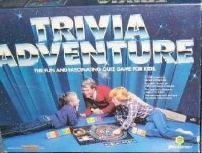Pressman Toy Trivia Adventure Quiz Board Game