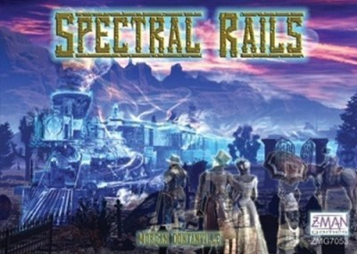 Z-Man Games Spectral Rails Board Game