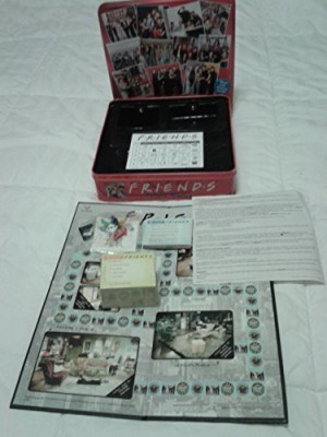 Cardinal Friends Trivia With Picture Cards In A Collectible Red Tin Board Game