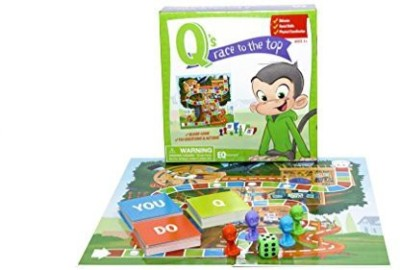 EQtainment Q,S Race To The Top Educational Social Skillsmannersand Board Game
