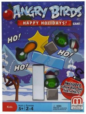 Turban Toys Angry Bird Happy Holidays Board Game