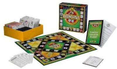 BrandCentric Games Franchisit First Edition Board Game
