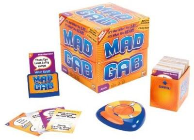 Mattel Games Mad Gab Board Game
