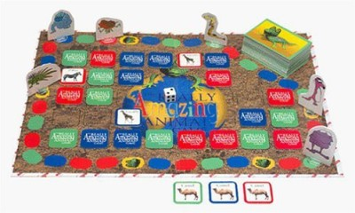 International Playthings The Really Amazing Animal Board Game