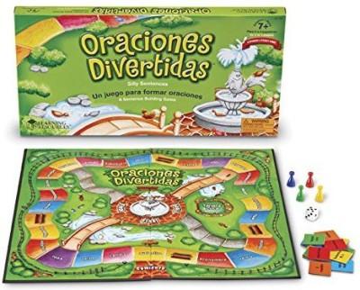 Learning Resources Oraciones Divertidas (Silly Sentences) Board Game