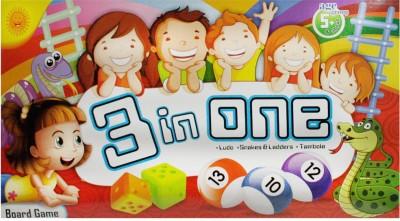 Sun Enterprises 3-in-one Board Game