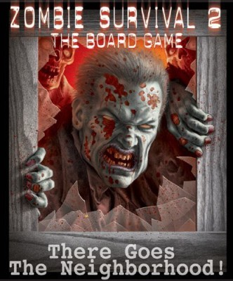 Twilight Creations Zombie Survival 2 There Goes The Neighborhood Board Game