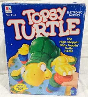 Hasbro Topsy Turtle Board Game