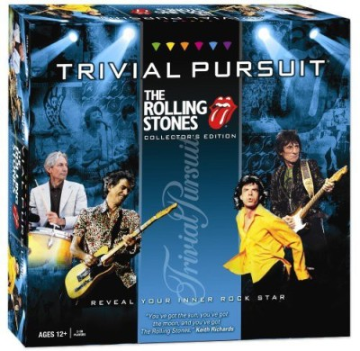 USAopoly Trivial Pursuit Rolling Stones Board Game