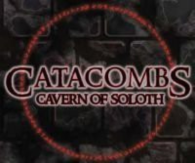 Sands of Time Catacombs Cavern Of Soloth Board Game
