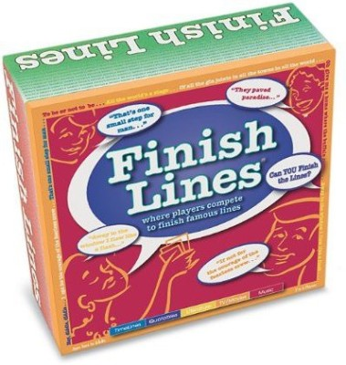 TaliCor S For All Reasons Finish Lines Board Game