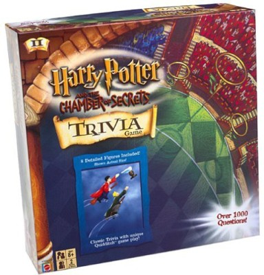 Harry Potter Chamber Of Secrets Trivia Board Game