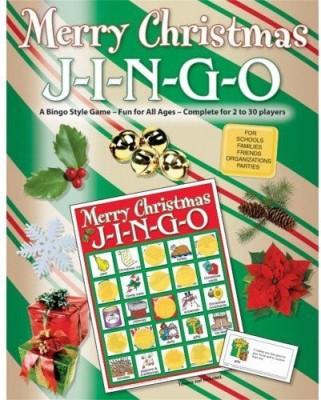 GARY GRIMM & ASSOCIATES Jingo Christmas Board Game