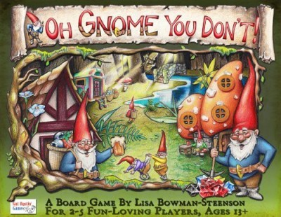 Gut Bustin, Games Oh Gnome You Don,T Board Game