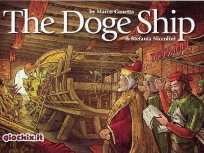 Inmedia Srl Giochix Doge Ship The Board Game