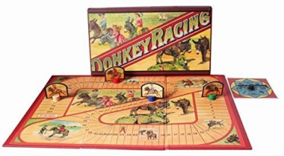 Perisphere And Trylon Games S Donkey Racing (New) Board Game