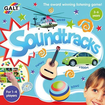 Galt Toys, Inc. Galtinc Soundtracks Cd Board Game