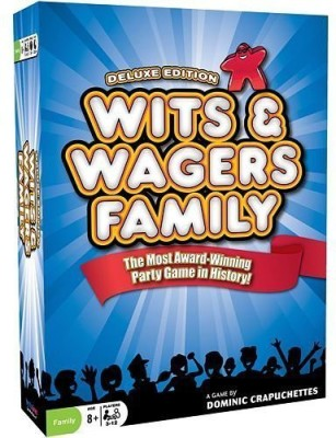North Star Games Wits & Wagers Family Deluxe Edition Board Game