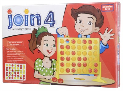 Anindita Toys Join 4 A Strategy Game Board Game