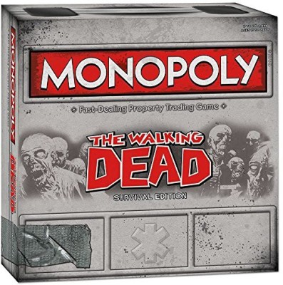 USAopoly Monopoly The Walking Dead (Survival Edition) Board Game