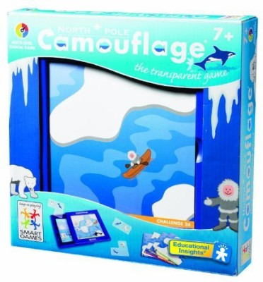 Educational Insights North Pole Camouflage Board Game