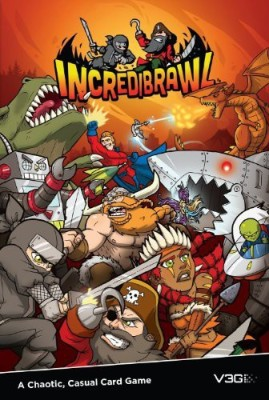 Vision 3 Games incredibrawl Board Game
