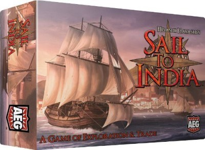 Alderac Entertainment Group Sail To India Board Game
