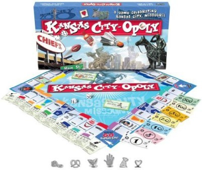 Late for the Sky Kansas Cityopoly Board Game