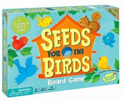 Peaceable Kingdom Seeds For The Birds Award Winning Cooperative For Kids Board Game