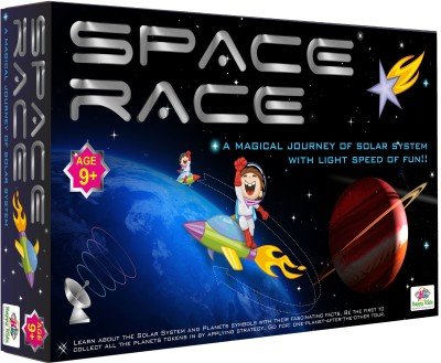 Happy Kidz Space Race An Educational Board Games, Kids Board Games Best Gifts for Kids Board Game