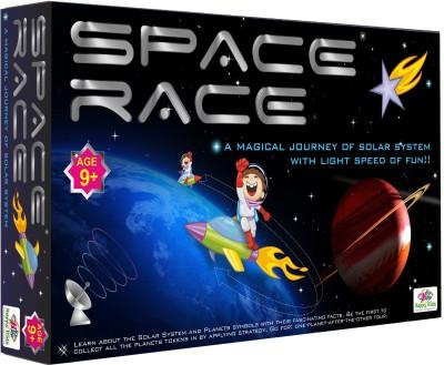 Happy Kidz Space Race An Educational Board Games, Kids Board Games Best Gifts for Kids Board Game