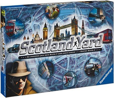 Ravensburger Scotland Yard Family Board Game