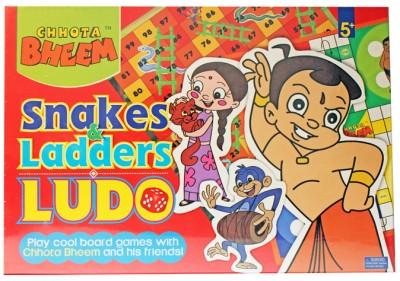 Chhota Bheem Snakes & Ladders Board Game
