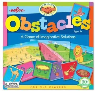 eeBoo Obstacle Board Game