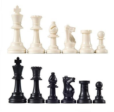 Wholesale Chess Heavy Tournament Triple Weighted Chess Pieces With 3 3/4