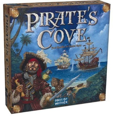 Days of Wonder Pirate,S Cove Board Game