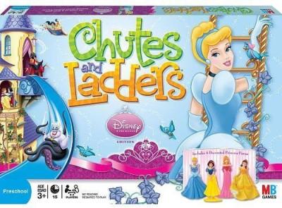 Hasbro Chutes And Ladders Disney Princess Board Game