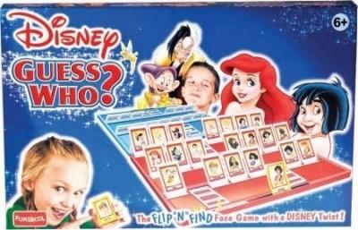 Funskool Disney Guess Who Board Game