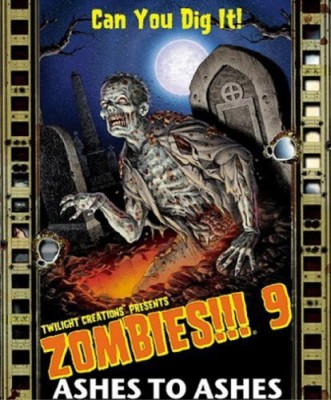 Twilight Creations Zombies 9 Ashes To Ashes Board Game