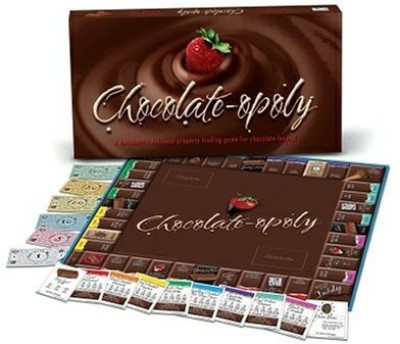 Late for the Sky Chocolate-opoly Board Game
