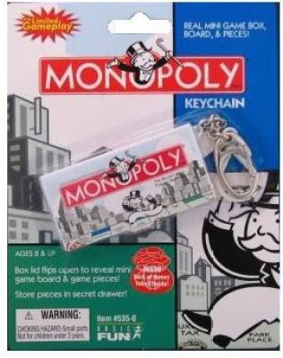 Monopoly Hasbro Game Keychain Board Game